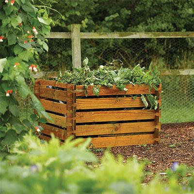 Budget Compost Planter
