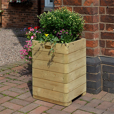 Marberry Tall Planter