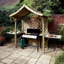 Party Arbour - Outdoor BBQ Shelter