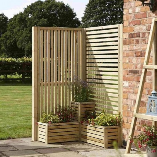 Corner Set Garden Creations - Natural Timber