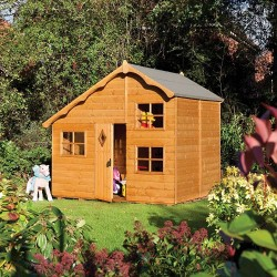 Playaway Swiss Cottage Summerhouse - Honey Brown