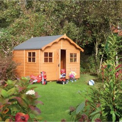 Kids Playaway Lodge Summerhouse - Honey Brown