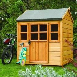 Kids Little Lodge - Honey Brown