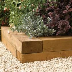 Timber Blocks 0.9m (Pack of 2) - Natural Timber