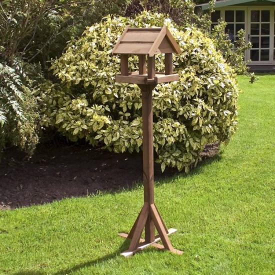 Bisley Bird Table - Natural Timber