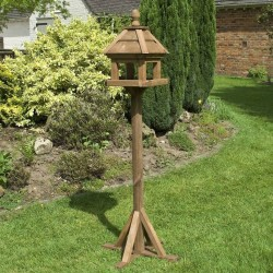 Lechlade Bird Table - Natural Timber