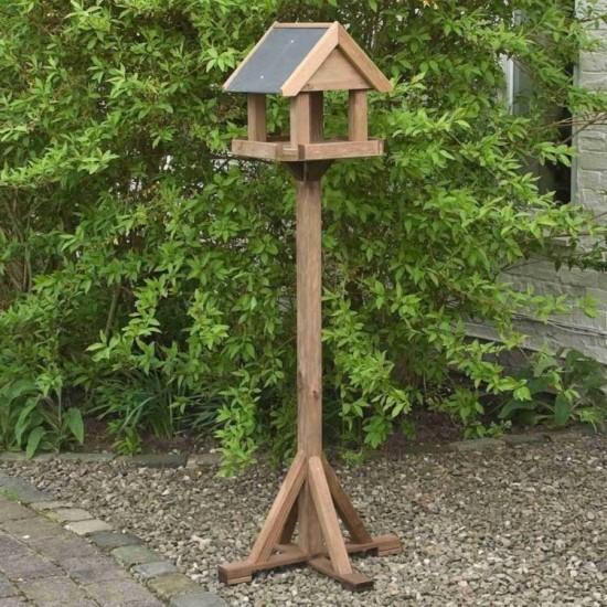 Windrush Bird Table - Natural Timber