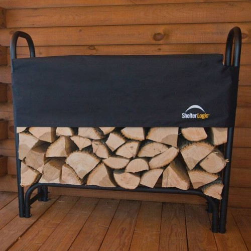 1.2m Steel Frame Log Rack