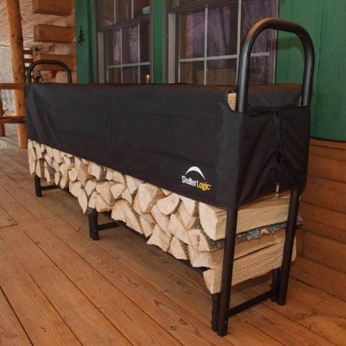 2.4m Steel Frame Log Rack