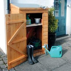 Mini Gardening Equipment Storage - Dipped Honey Brown
