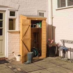 Mini Storage for Gardening Equipment - Dipped Honey Brown