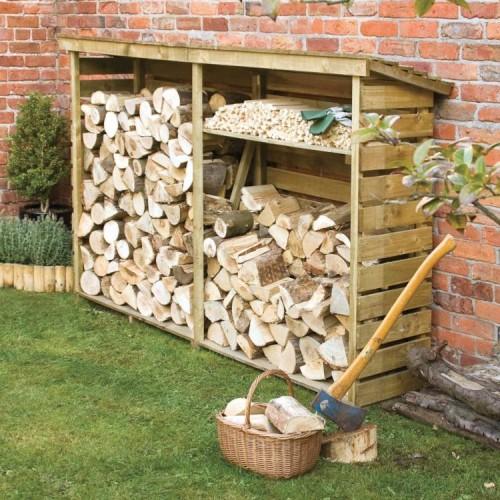 Large Outdoor Log Storage